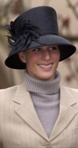 Zara Phillips, April 15, 2001 | Royal Hats