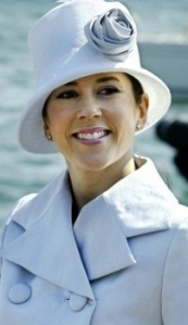 Crown Princess Mary of Denmark, May 5, 2004 in Susanne Juul   Royal Hats