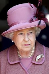 Queen Elizabeth, March 24, 2011 in Angela Kelly   Royal Hats