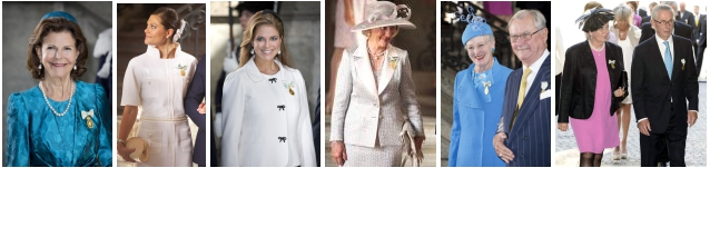 Ruby Jubilee of King Carl Gustaf of Sweden, September 15, 2014 | Royal Hats