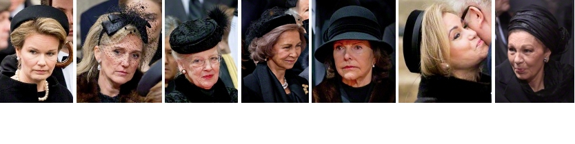 Funeral of Queen Fabiola, December 12, 2014 | Royal Hats