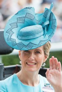 Countess of Wessex, June 15, 2016 in Jane Taylor | Royal Hats