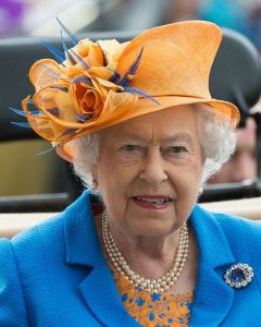 Queen Elizabeth, June 16, 2016 in Angela Kelly | Royal Hats