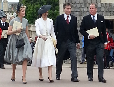 Viscountess Linley and Lady Sarah Chatto, June 17, 2013 | The Royal Hats Blog