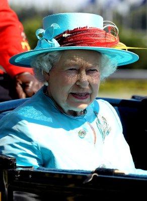 Queen Elizabeth, July 4, 2010 in Angela Kelly |Royal Hats