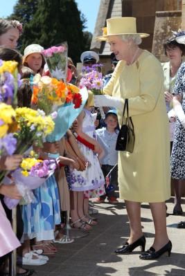 Queen Elizabeth, October 23, 2011 in Angela Kelly |Royal Hats