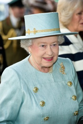 Queen Elizabeth, February 29, 2012 in Angela Kelly |Royal Hats