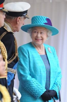 Queen Elizabeth, May 19, 2012 in Angela Kelly |Royal Hats