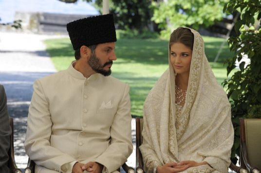 Prince Rahim Aga Khan and Kendra Spears, August 31, 2013  | The Royal Hats Blog