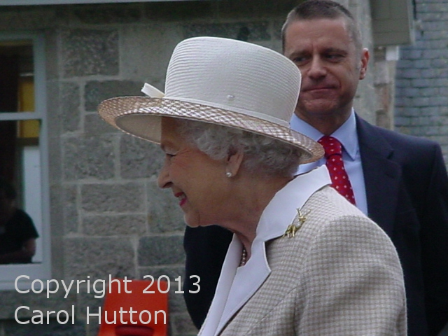 Queen Elizabeth, August 2013 | The Royal Hats Blog