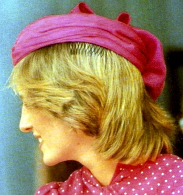 Princess Diana, April 10, 1983 | The Royal Hats Blog