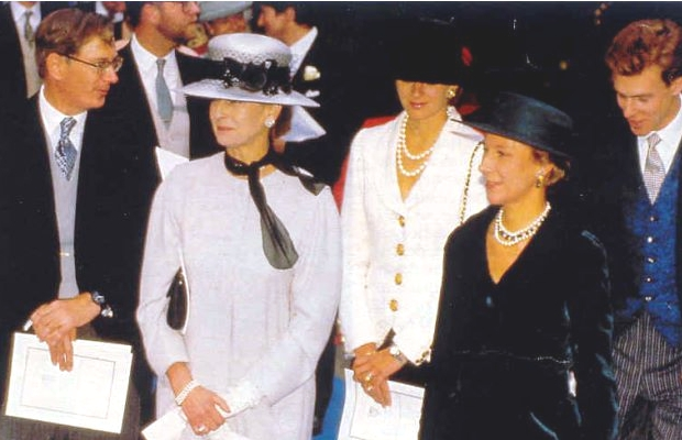 Princess Alexandra, Julia Ogilvy, Duchess of Gloucester, October 8, 1993 | The Royal Hats Blog