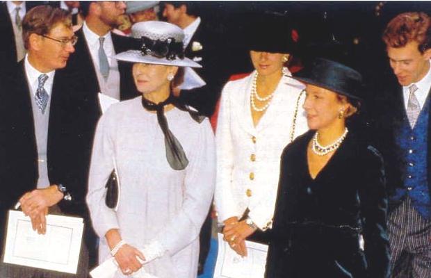 Princess Alexandra, Julia Ogilvy, Duchess of Gloucester, October 8, 1993 | The Royal Hats Blog