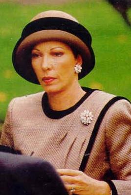 Princess Salimah Aga Khan, October 8, 1993 | The Royal Hats Blog