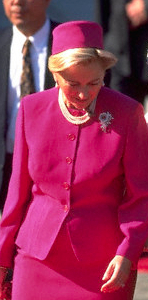 Queen Paola, Oct. 22, 1996