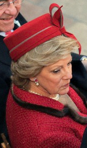Queen Anne-Marie, Jan. 14, 2012