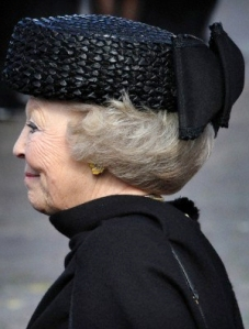 Queen Beatrix, April 19, 2012