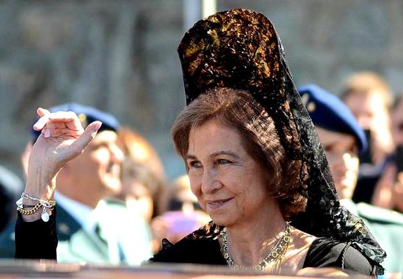 Queen Sofia, October 6, 2013 | The Royal Hats Blog