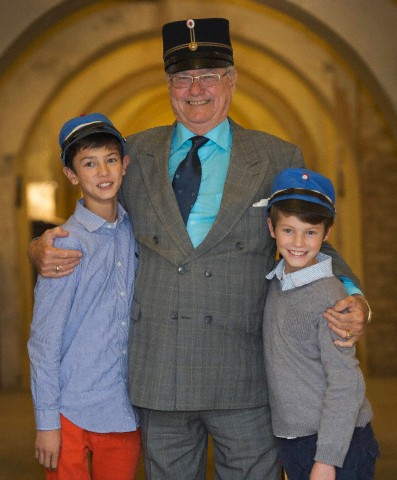Prince Henrik, Prince Nikolai and Prince Felix, October 10, 2013 | The Royal Hats Blog