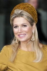 Queen Máxima, Oct. 18, 2013 in Fabienne Delvigne | The Royal Hats Blog