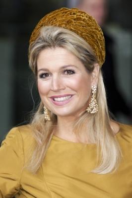 Queen Máxima, Oct. 18, 2013 in Fabienne Delvigne | Royal Hats