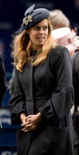 Princess Beatrice, October 19, 2013 | The Royal Hats Blog