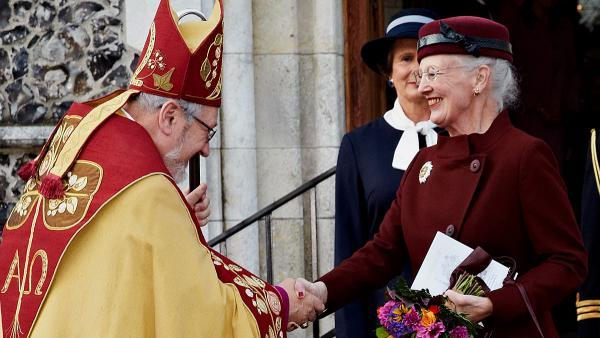 Queen Margrethe, Oct. 20, 2013 | The Royal Hats Blog