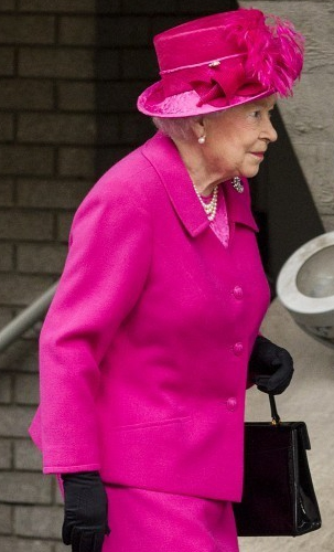 Queen Elizabeth, Oct 22, 2013 | The Royal Hats Blog