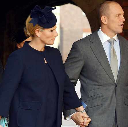 Zara Phillips, Oct 23, 2013 in Rachel Trevor Morgan | The Royal Hats Blog