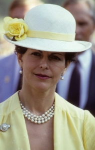 Queen Silvia, 1980s | The Royal Hats Blog