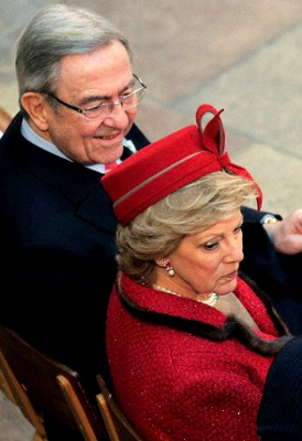 Queen Anne-Marie, January 14, 2012 | The Royal Hats Blog