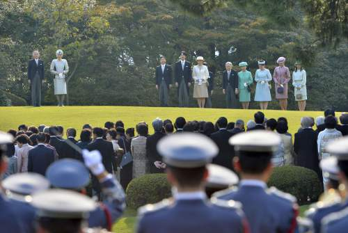Empress Michiko, Oct. 31, 2013 | The Royal Hats Blog