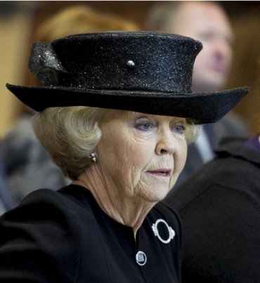 Princess Beatrix, Nov. 9, 2013 | The Royal Hats Blog