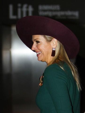 Queen Máxima, Nov. 11, 2013 in Fabienne Delvigne | The Royal Hats Blog