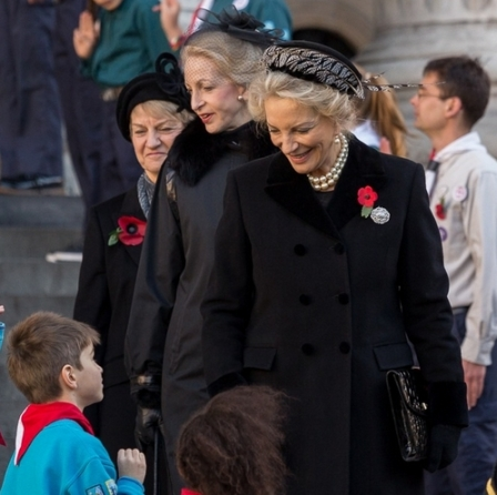 Princess Michael of Kent, November 11, 2013 in John Boyd | The Royal Hats Blog