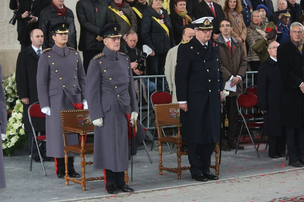 The Duke of Edinburgh and Prince Laurent, Nov. 11, 2013 | The Royal Hats Blog