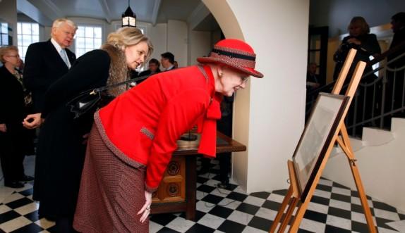 Queen Margrethe, Nov. 13, 2013 | The Royal Hats Blog