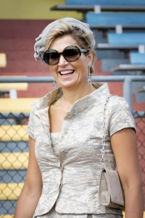 Queen Máxima, Nov 21, 2013 in Fabienne Delvigne | The Royal Hats Blog