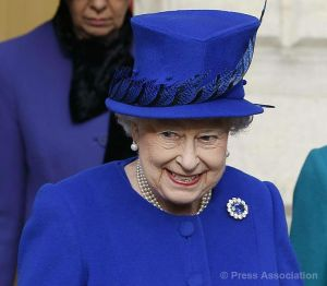 Queen Elizabeth, Nov. 29, 2013 in Angela Kelly | The Royal Hats Blog
