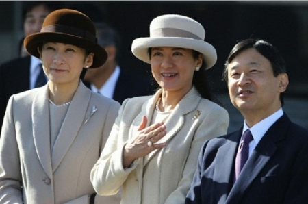 Princess Kiko and Princess Masako, Nov. 30, 2013 | The Royal Hats Blog