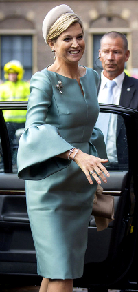Queen Máxima, Nov. 30, 2013 in Fabienne Delvigne| The Royal Hats Blog
