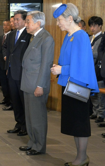 Empress Michiko, Oct. 28, 2013 | The Royal Hats Blog