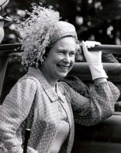 Queen Elizabeth, 1983 in Frederick Fox | The Royal Hats Blog