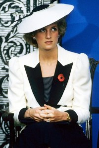 Princess Diana, November 10, 1985 in Frederick Fox | The Royal Hats Blog