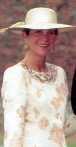 Infanta Elena, July 1, 1995 | The Royal Hats Blog