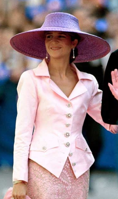 Infanta Elena, October 1997 | The Royal Hats Blog