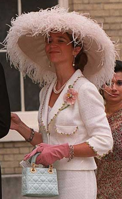 Infanta Elena, July 1999 | The Royal Hats Blog