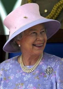 Queen Elizabeth, Feb 20, 2002 in Frederick Fox   The Royal Hats Blog