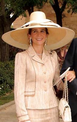 Infanta Elena, Sep 27, 2003 | The Royal Hats Blog