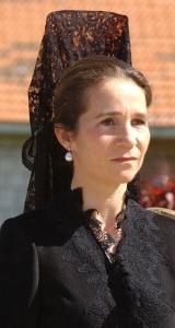 Infanta Elena, April 20, 2004 | The Royal Hats Blog